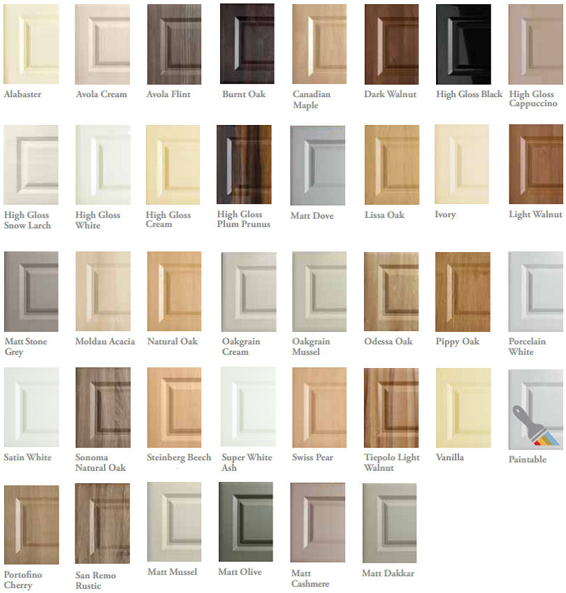 Bella Bedroom Door Colours, cheap diy bedroom doors, Bella made to ...